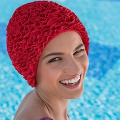 bonnet de bain tissu