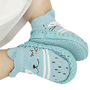 chaussette antidérapante bébé