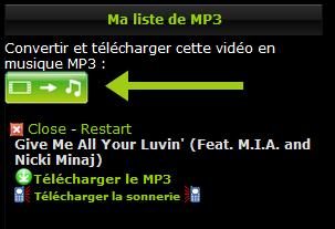 clip to mp3