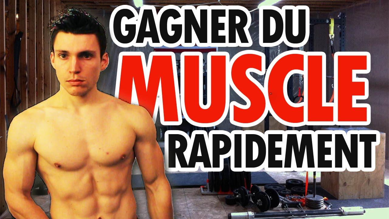 comment prendre de la masse musculaire rapidement