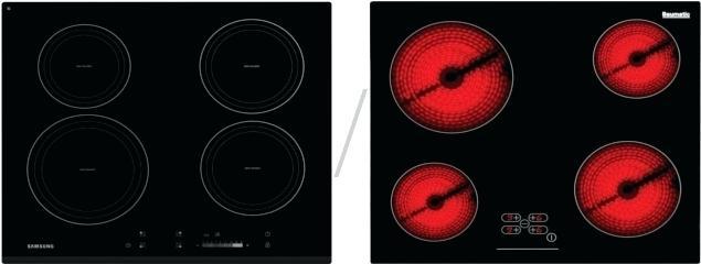 différence induction et vitrocéramique