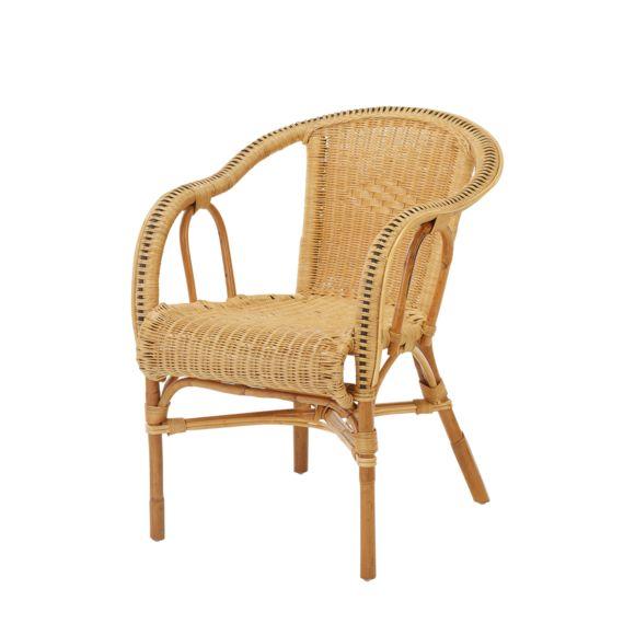 fauteuil en osier