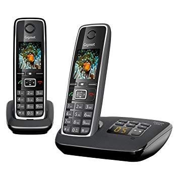 telephone sans fil duo avec repondeur