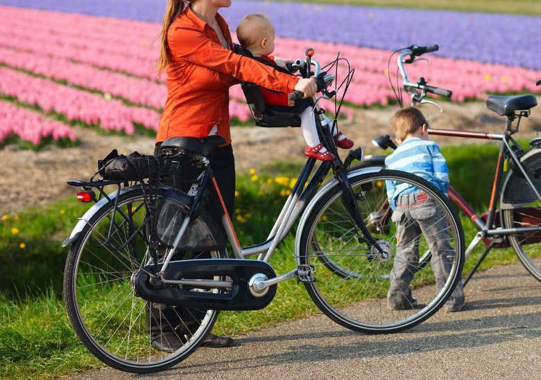 vélo porte bébé
