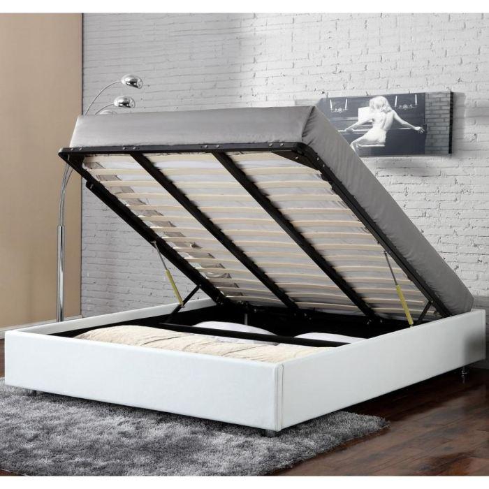 cadre de lit coffre