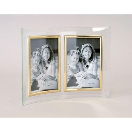 cadre photo double