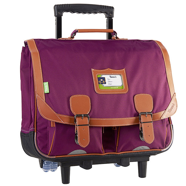 cartable a roulette tann's