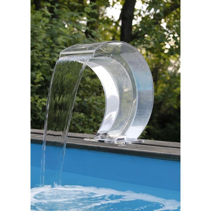 cascade pour piscine