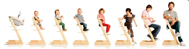 chaise évolutive stokke