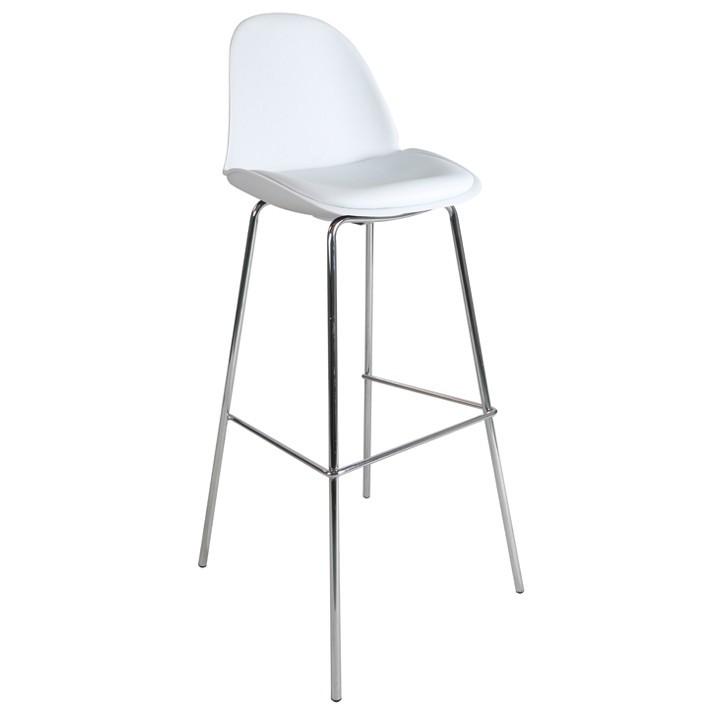 chaise haute blanche