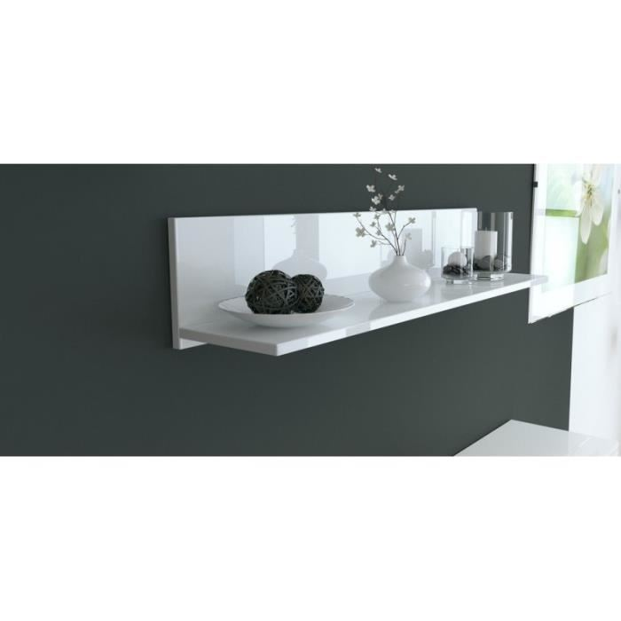 etagere murale blanche