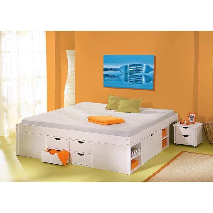 lit tiroir 2 personnes