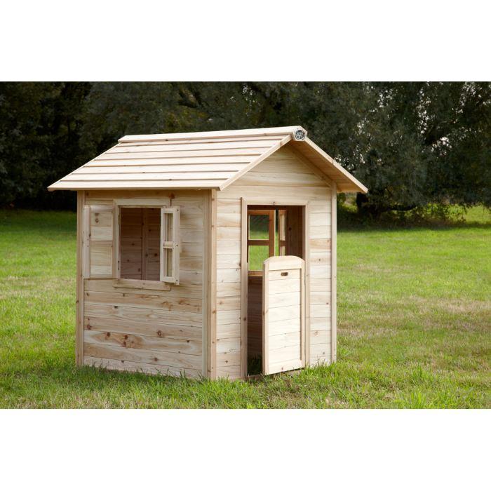 maison en bois enfant