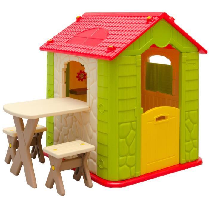 maison jardin enfant