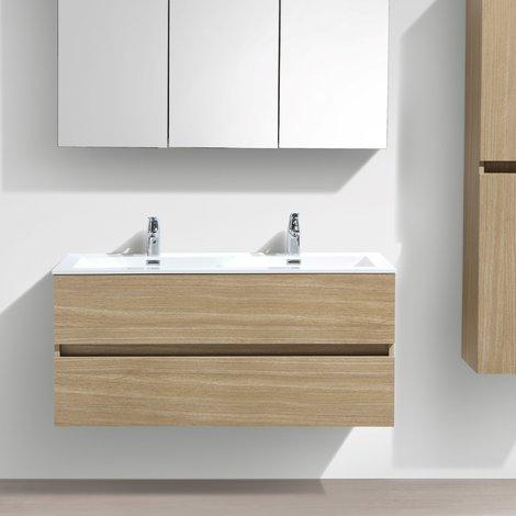 meuble de salle de bain double vasque