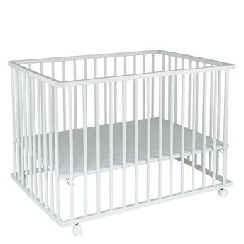parc bébé bois blanc
