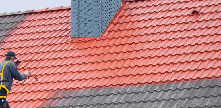 peinture de toiture
