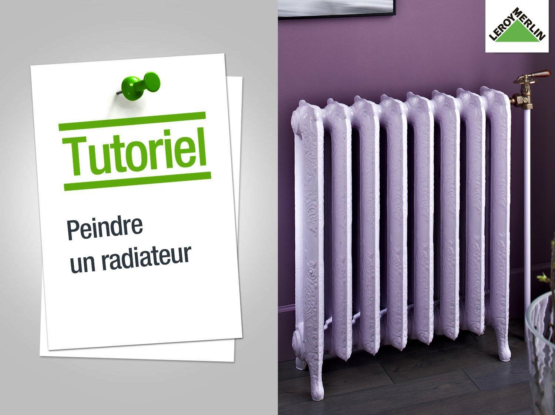 peinture radiateur
