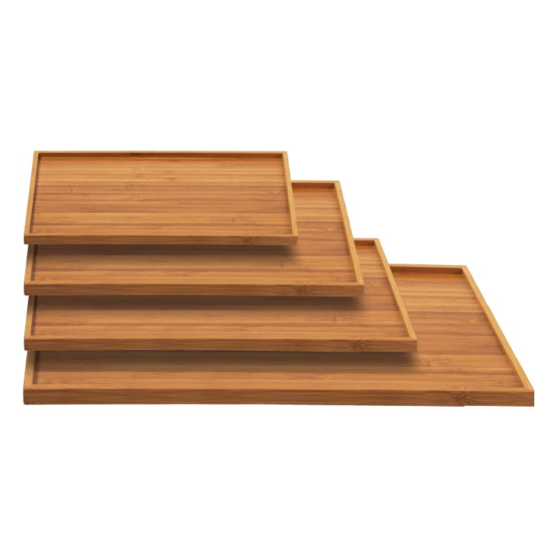 plateau bambou