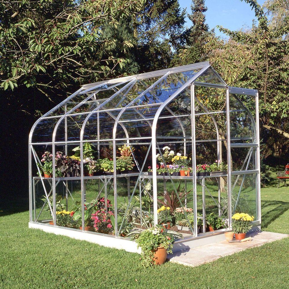 serre de jardin en verre