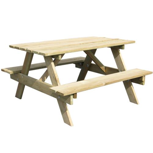table picnic bois