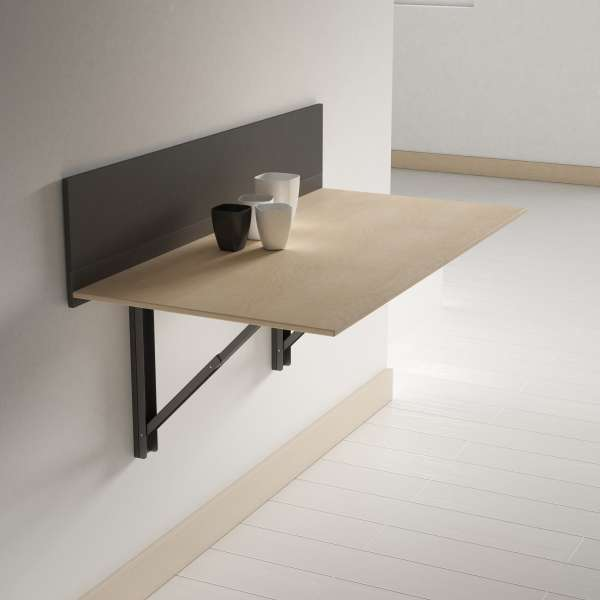 table pliante murale
