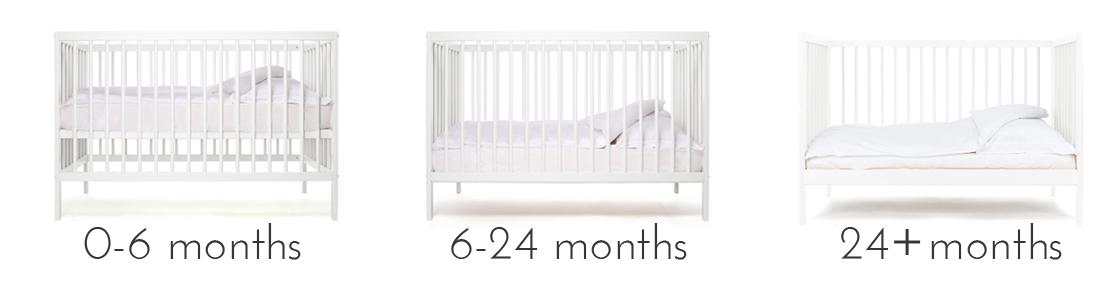 taille lit bébé