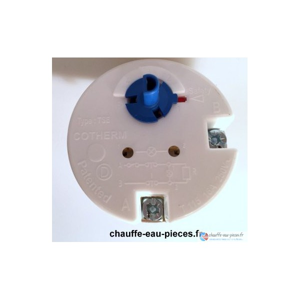 thermostat chauffe eau atlantic