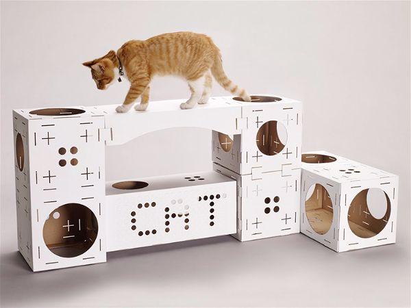 arbre a chat en carton