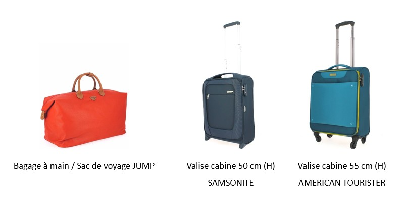 bagage a main taille