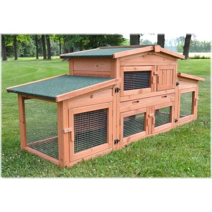 cage exterieur lapin