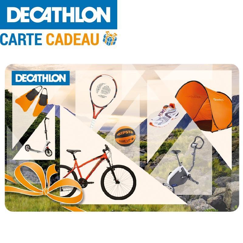 carte cadeau décathlon