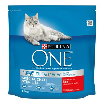 croquette purina one chat stérilisé