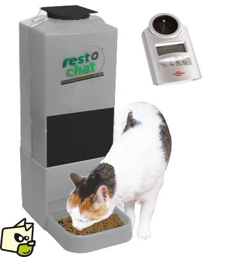 distributeur croquettes chat programmable