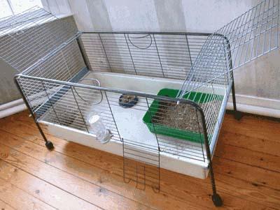 grande cage lapin 1m50