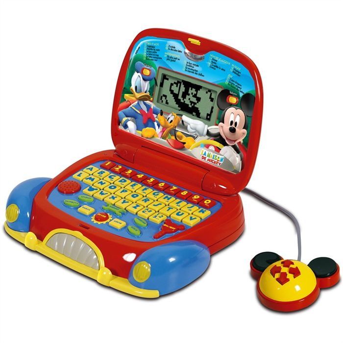 ordinateur mickey 3 ans