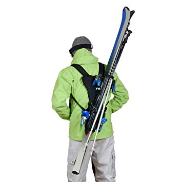 porte ski dorsal