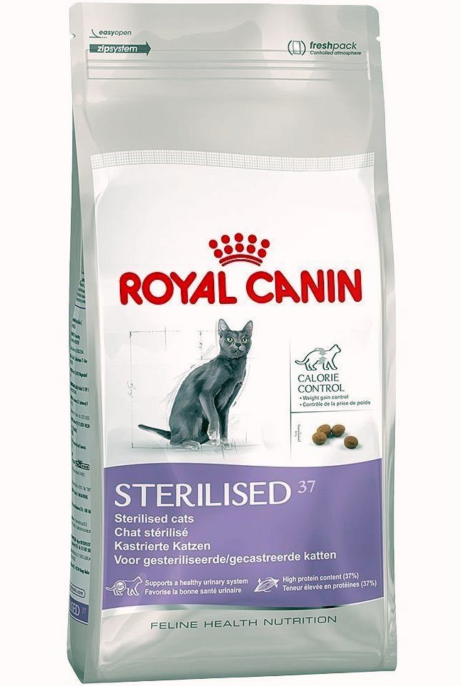 royal canin sterilised 37 10kg 2kg