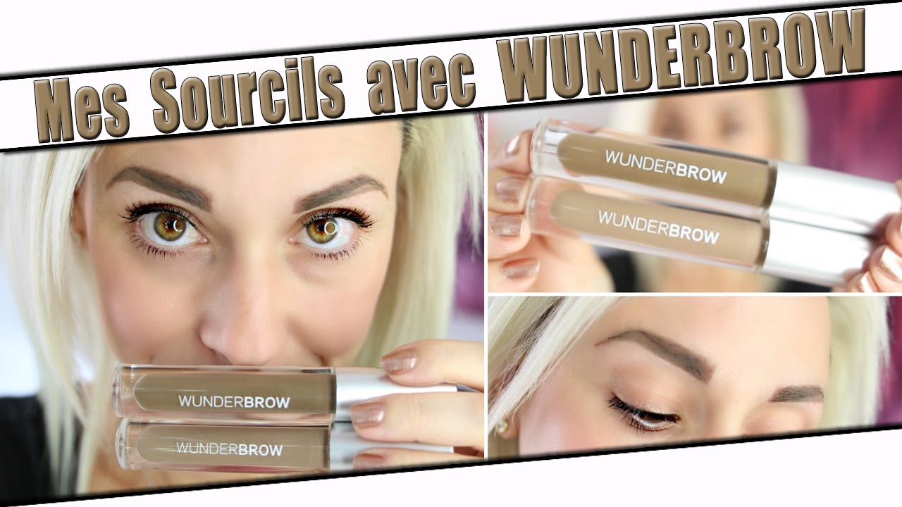 wunderbrow sourcil