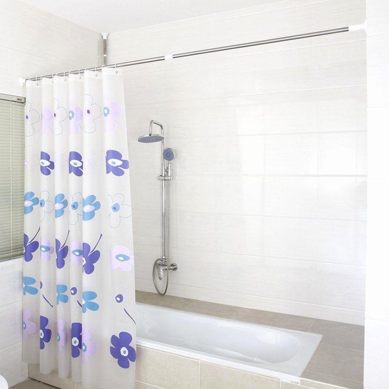 barre de baignoire d angle extensible