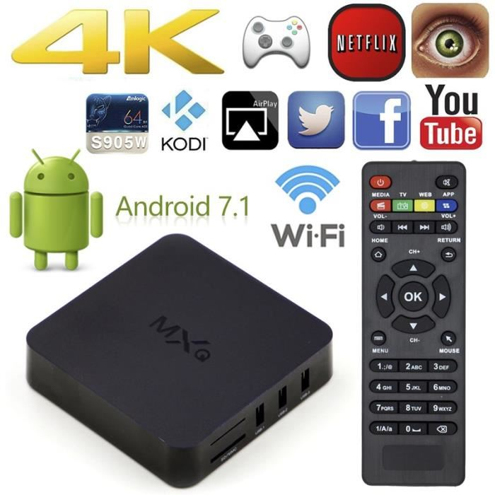 boitier tv android