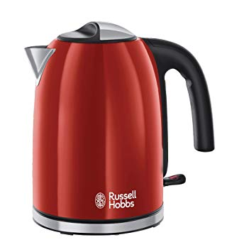 bouilloire russell hobbs rouge