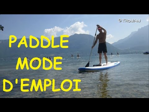 comment faire du paddle
