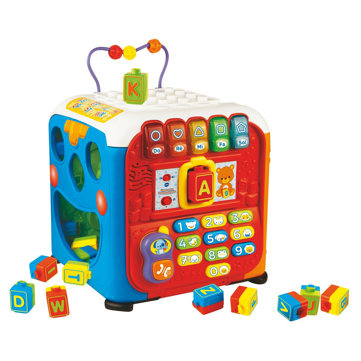 cube activité vtech