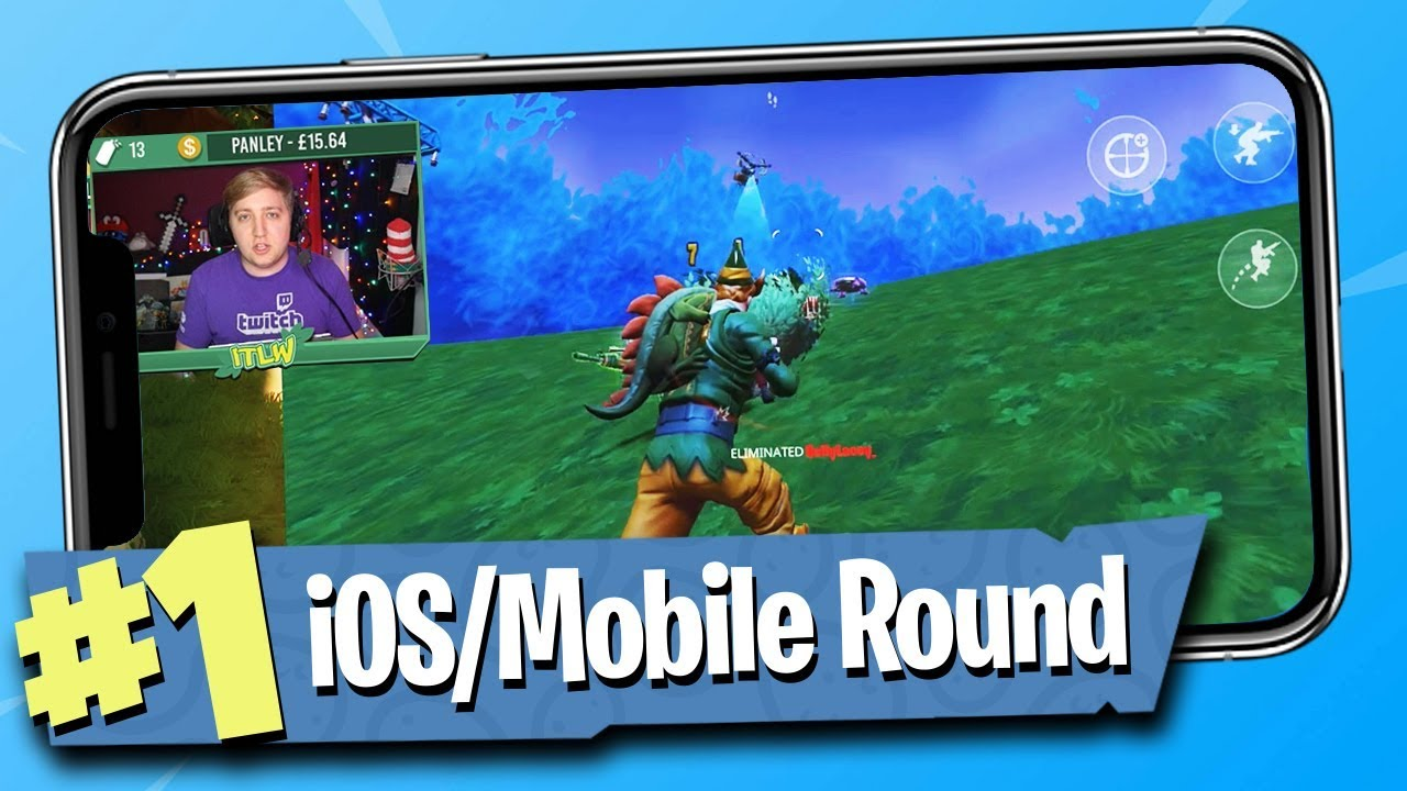 fortnite battle royale ios