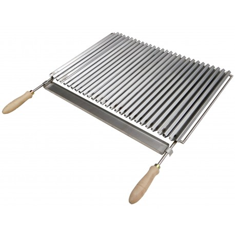 grille barbecue inox