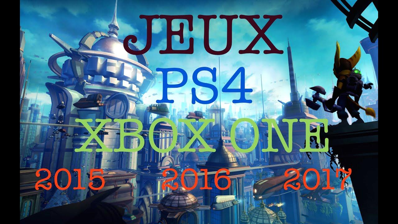 jeux xbox one 2017