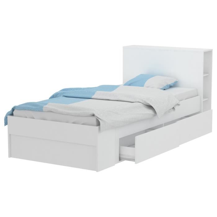 lit 1 personne avec rangement