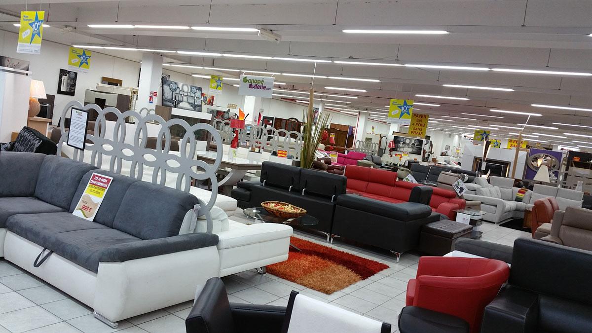 magasin de canapé