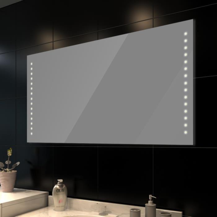 miroir salle de bain avec éclairage